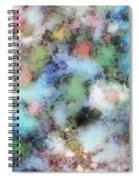 Disturbing The Sky Spiral Notebook