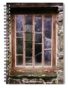 Disused Watermill Window Spiral Notebook