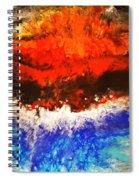 Diverging Spiral Notebook