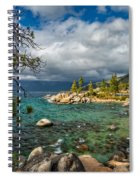 Divers Cove At Lake Tahoe Spiral Notebook