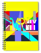 Diversity Enmeshed Spiral Notebook