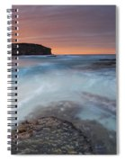 Divided Tides Spiral Notebook