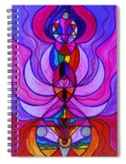 Divine Feminine Activation Spiral Notebook
