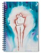 Divine Love Series No. 2083 Spiral Notebook