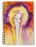 Divine Love Series No. 2084 Spiral Notebook
