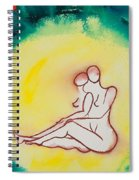 Divine Love Series No. 2086 Spiral Notebook