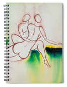Divine Love Series No. 2090 Spiral Notebook