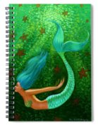 Diving Mermaid Fantasy Art Spiral Notebook