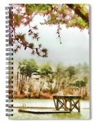 Diving Platform Spiral Notebook