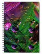 Diving The Reef Series - Hallucinations Spiral Notebook