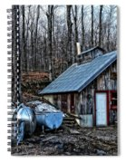 Dix Family Sugar House Spiral Notebook