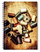 Diy Vintage Fashion Design Spiral Notebook
