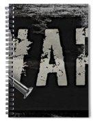 Diy Warrior Spiral Notebook