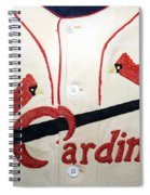Dizzy Dean And The Gashouse Gang Spiral Notebook