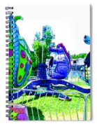 Dizzy Dragon Ride 2   Spiral Notebook