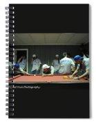 Dj Just Nick Photography Spiral Notebook