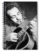 Django Reinhardt Spiral Notebook