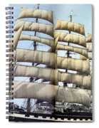 dk tall ships kruzenshtern barque lyr 1926 full D K Spinaker Spiral Notebook