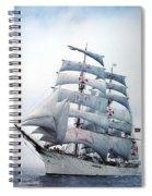 dk tall ships sagres i lyr 1896 D K Spinaker Spiral Notebook