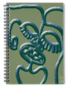 Dna 2 Spiral Notebook