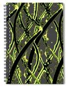 Dna Design Spiral Notebook