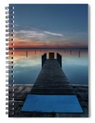Dnr West Boat Launch Sunrise Spiral Notebook
