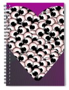 Do Not Look At The Eyes Of Envy Spiral Notebook