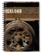 Do Not Overload Spiral Notebook