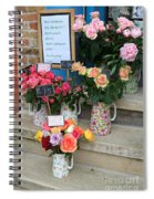 Do Not Touch The Floral Display Spiral Notebook