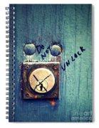 Do Not Unlock Spiral Notebook