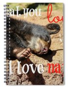 Do What You Love Spiral Notebook