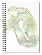 Do You Think - Female Nude Spiral Notebook