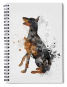 Doberman Pinscher Spiral Notebook