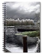 Dock At Dusk Spiral Notebook