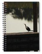 Dock Bird In Color Spiral Notebook