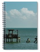 Dock By The Sea Spiral Notebook