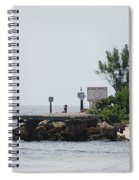Dock Girl Spiral Notebook