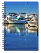 Dock O' The Bay Spiral Notebook