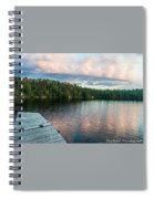 Dock Of The Lake Spiral Notebook