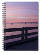 Dock On The Bay Spiral Notebook