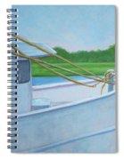 Docked At Calabash Spiral Notebook