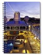 Docked In Monte Carlo Spiral Notebook
