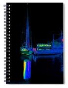 Docked Woy Woy 1.4 Spiral Notebook