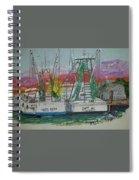 Docking Buddies Spiral Notebook