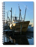 Docks At Darien  Spiral Notebook