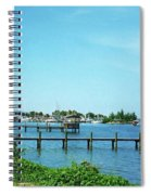 Docks On The Intracoastal Spiral Notebook