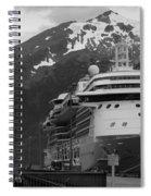 Dockside In Skagway Spiral Notebook