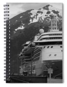 Dockside In Skagway Spiral Notebook