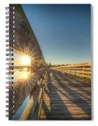 Dockside Sunset Spiral Notebook