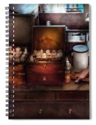 Doctor - Doctor In A Box Spiral Notebook